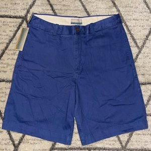 Breakwater Mens Casual Cotton Khaki Chino Shorts